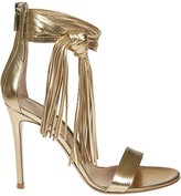 Gianvito Rossi Laced Ankle Strap Sandals