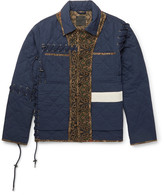 Craig Green Panelled Quilted Cotton Jacket