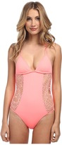 Hurley Webbed Rem S/C One-Piece