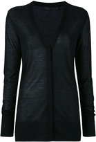 Calvin Klein Collection cashmere V-neck cardigan - women - Cashmere - M