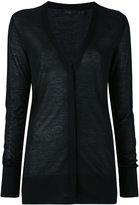 Calvin Klein Collection cashmere V-neck cardigan - women - Cashmere - M
