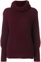 Antonia Zander turtleneck slim-fit jumper
