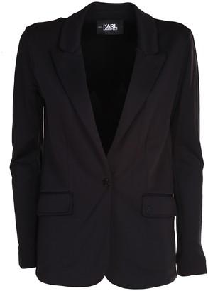 Karl Lagerfeld Paris single-breasted blazer