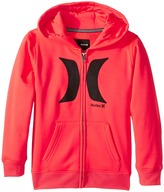 Hurley Drifit Full Zip Hoodie (Little Kids)