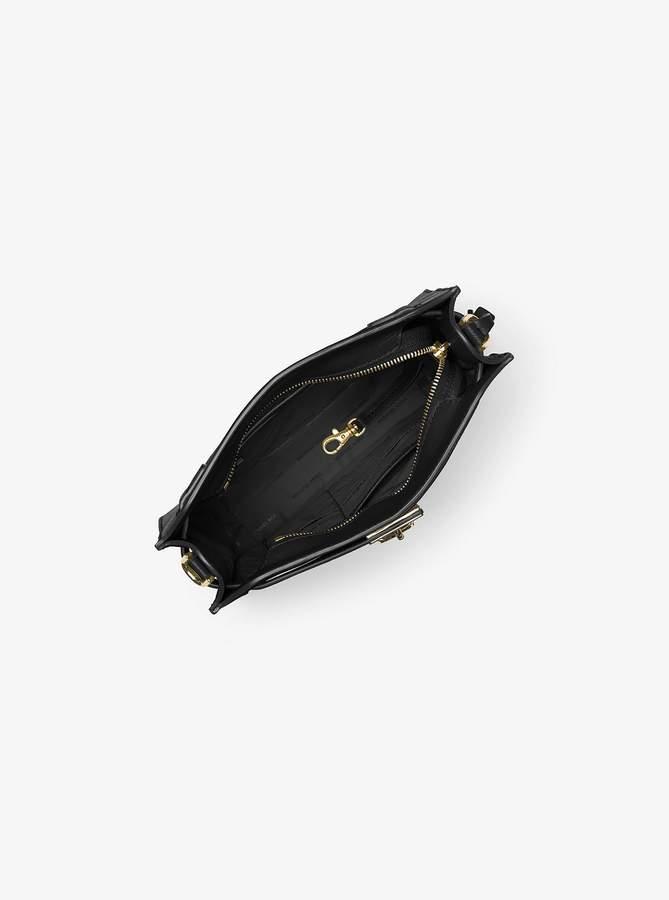 MICHAEL Michael Kors Hamilton Medium Leather Messenger