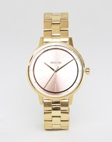 Nixon Kensington Pink Face Watch