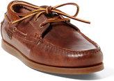 Ralph Lauren Dayne Leather Boat Shoe
