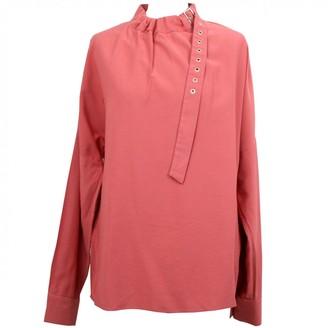 Tibi Pink Viscose Tops