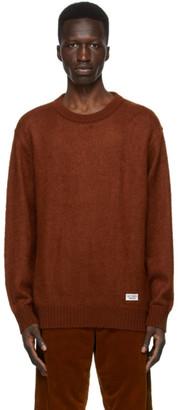 Wacko Maria Brown Wool Crewneck Sweater
