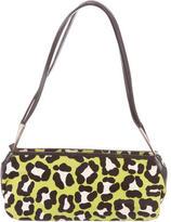 Bottega Veneta Leopard Print Shoulder Bag