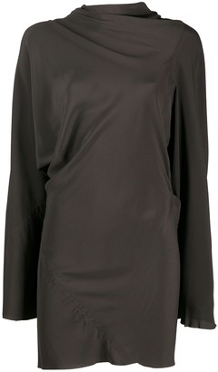 Rick Owens Draped Front Dress