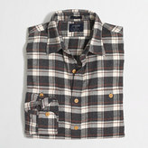J.Crew Factory Plaid flannel workshirt