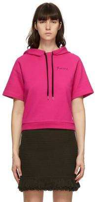 Marni Pink Short Sleeve Hoodie
