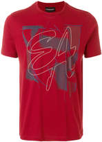 Emporio Armani crew neck logo T-shirt