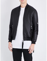 Blood Brother Woven Shell Bomber Jacket