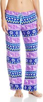 Hello Kitty Women's Snowflake Print Pajama Pants
