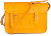 Cambridge Satchel Upwardly Mobile Satchel in Yellow - 14 inch