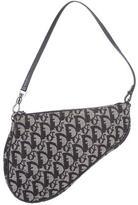 Christian Dior Denim Mini Saddle Bag