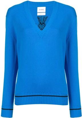 Barrie V-neck pullover jumper