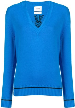 Barrie V-neck pullover jumper