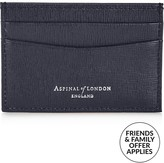 Aspinal of London Men's Leather Slim Credit Card Holder