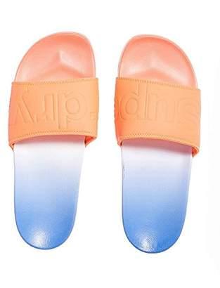Superdry Women's Beach Slider Flip Flops,S UK