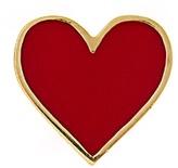 Alison Lou Enamel & yellow-gold Heart earring