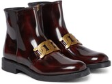 Thumbnail for your product : Tod's Kate leather ankle boots