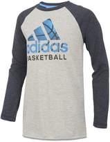 adidas Boys' Basketball Logo Tee