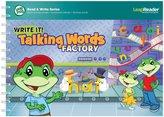 Leapfrog LeapReader Book: Write it! Talking Words Factory