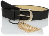 Steve Madden Women's Pant Belt with Tassel