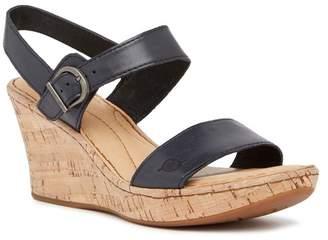 Børn Boulder Platform Wedge Leather Sandal