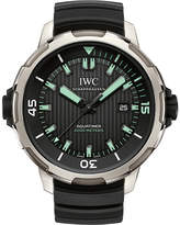 IWC IW358002 Aquatimer 2000 stainless steel automatic rubber strap watch