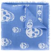 Alexander McQueen skull print scarf - women - Silk/Modal/Modal - One Size