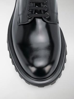 Dolce & Gabbana ridged sole Derby shoes