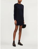 See by Chloe Ribbed stretch-knit mini dress