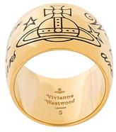Vivienne Westwood orb motif thick ring
