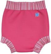 Splash About Swim Diaper - Pink Candy Stripe - X-Large