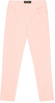 Loro Piana Kids Mathias stretch-cotton skinny jeans