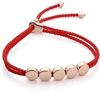 Monica Vinader Linear Bead Coral bracelet