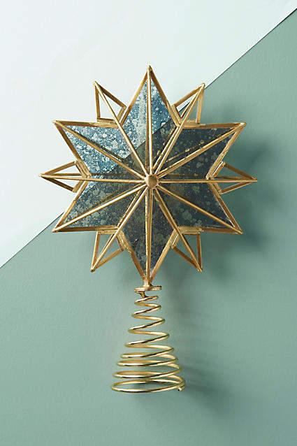 Anthropologie Shining Star Tree Topper