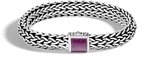 John Hardy Classic Chain 10.5MM Bracelet in Silver with Gemstone