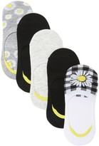 Steve Madden Daisy Foot Liners - Pack of 5