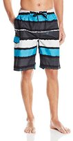 Kanu Surf Men's Voodoo Stripe Swim Trunks