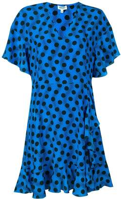 Kenzo polka dot mini dress