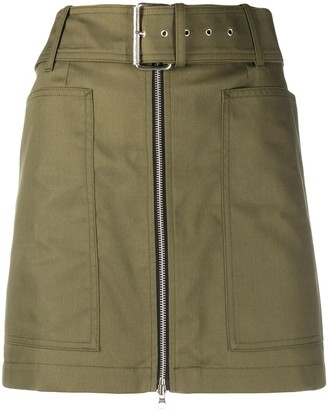 DEPARTMENT 5 Belted Mini Skirt