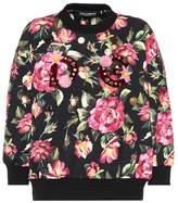 Dolce & Gabbana Floral-printed sweatshirt