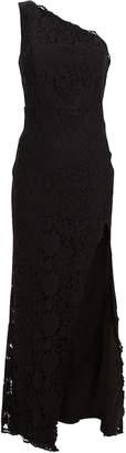 Fame & Partners Selma Lace One-Shoulder Dress