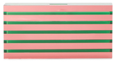 Mary Katrantzou Large Striped Acrylic Box Clutch