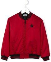 Dolce & Gabbana crown crest bomber jacket